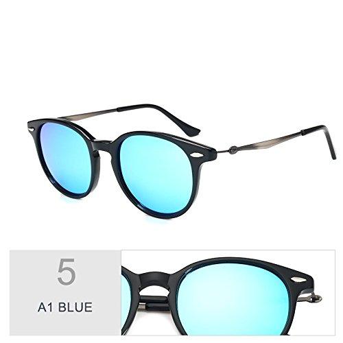 Similar De Mujeres De A1 C96 Retro TIANLIANG04 Para Polarizadas Gafas Madera Anteojos En Guía BLUE Sol De Hombres Sol Oval Silver Unisex Uv400 Gafas wRXUqZP