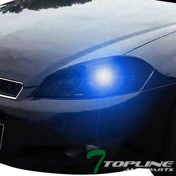 Topline Autopart 10000K HID Xenon + Smoke Head Lights Lamps Headlights Corner Turn Signal Blinkers Amber NB 06-16 Chevy Impala LS LT LTZ SS 1LT 2LT 2LZ CNG Limited Monte (Impala Ltz)