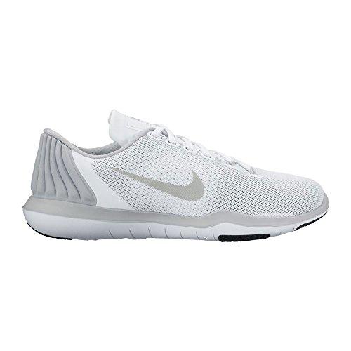 Nike Wmns Nike Flex Supreme Tr 5 - white/metallic silver-wolf gre