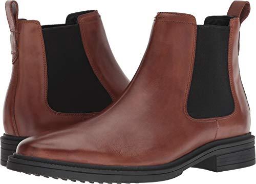 Cole Haan Men's Bernard Chelsea Boot, Woodbury/Black, 11.5 M US -