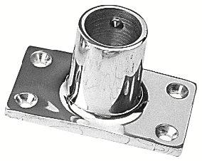 Sea Dog 281901-1 90-Degree Rectangular Base Rail Fitting, 1-Inch ()