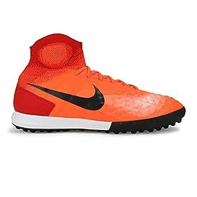 Nike Men's MagistaX Proximo II Turf Total Crimson/Black/University Red Soccer Shoes