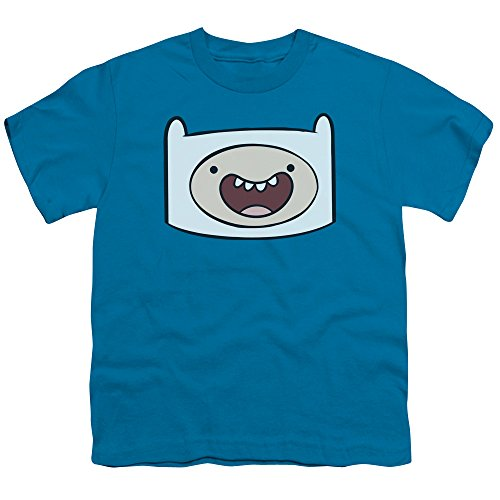 Time Jeunesse shirt Turquoise Head Finn Adventure T d7wqtdT