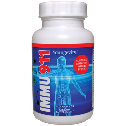 Nutritional support for immune system Immu-911 - 60 caps - 3 Pack by Youngevity