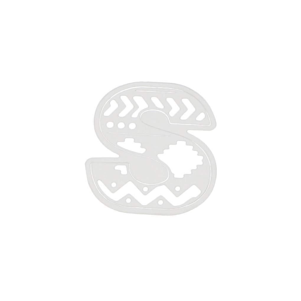 El Corte del Alfabeto de Letras de Metal Dies Marco Plantillas para el Corte del Alfabeto DIY Muere DIY Scrapbooking /álbum de Fotos en Relieve Tarjetas de Papel
