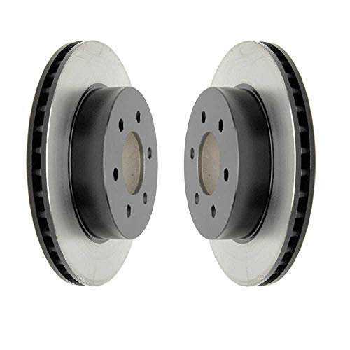 Prime Choice Auto Parts R6384PR Front Disc Brake Rotors Pair Left and Right Side