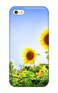 Fashion ZUhlafX5476LHxMG Case Cover For Iphone 5/5s(gorgeous Sunflowers)