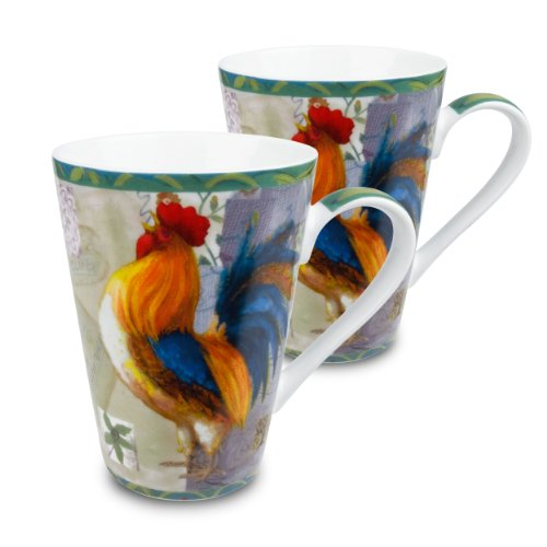 Konitz Rooster Morning Star Mugs product image