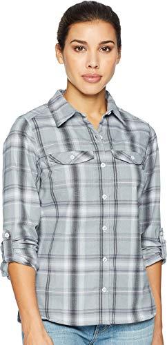 Columbia Silver Ridge Long Sleeve Flannel, Large, Cirrus Gre