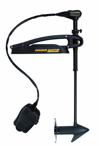 "Minn Kota Maxxum 70 Bow-Mount Trolling Motor with Foot Control and Bowguard (70-lb Thrust, 42"" Shaft)"