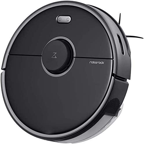 roborock vacuum robot vacuum cleaner, sweeper, wiping function, LDS sensors, app control (S5 Max Black): Amazon.co.uk: Kitchen & Home