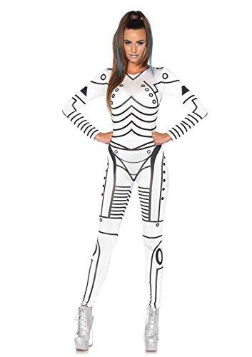 Robot Costumes Usa (Killer Robot Costume Bundle with Pink Shorts)