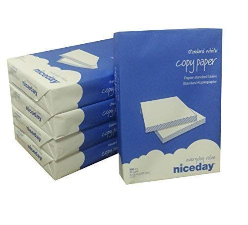 Niceday A4 80gsm Blanco Copiadora Papel para impresora 500 ...