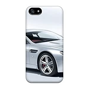 Flexible Tpu Back Case Cover For Iphone 5/5s - Aston Martin V8 Vantage Coupe 2009