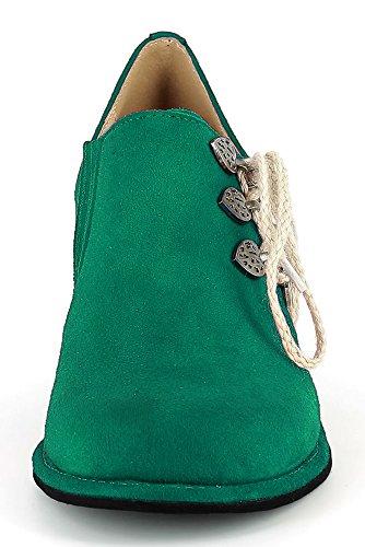 Conti Mujer Andrea Para Verde De Vestir Zapatos 8xv0qd