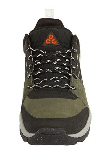 Nike Herren Sneakers ALDER LOW Cargo Khaki/Flash Lime-Black 599659-330