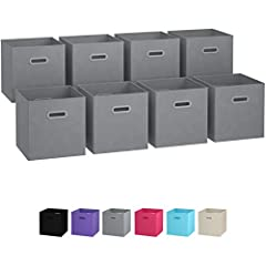 LOOKING FOR A METHOD TO DEFEAT THE CLUTTER ONCE AND FOR ALL? It's common knowledge that a clear space translates into a clear mind.With the Royexe folding organization bins, putting your space back into order will be a breeze!MULTI-USE BASK...