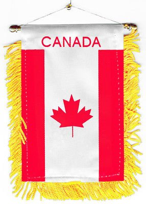 Canada flag automobile rearview mirror or window flag car Home Canadian - Mirror Canada