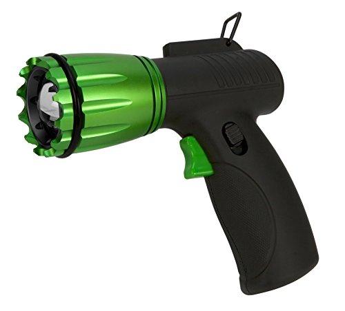 Performance Tool W2438 Electric Green FirePoint LED Tactical Pistol Grip Spotlight Flashlight (230 (Electric Pistol Grip)