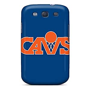 Protector Hard Cell-phone Cases For Samsung Galaxy S3 (rMV829qaIq) Custom Colorful Nba Cleveland Cavaliers 5 Image
