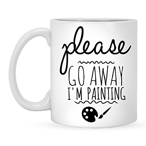Artist 11 Oz White Mug - 8