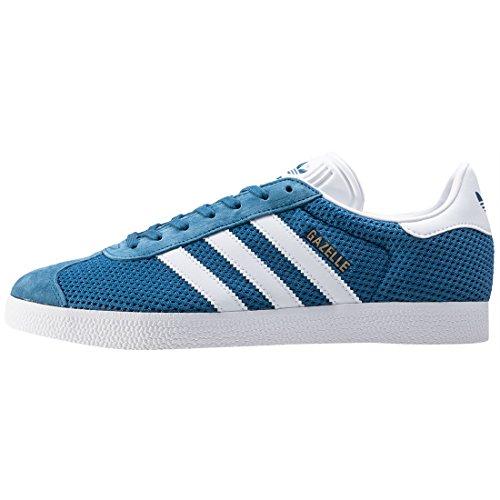 White Gazelle Sneakers adidas Herren Blue 7OqnZT