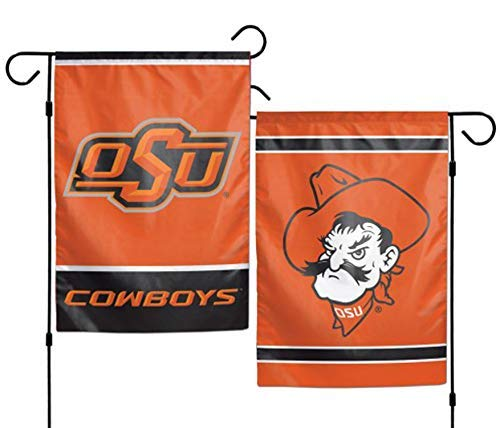 (WinCraft NCAA Oklahoma State University 12x18 Inch 2-Sided Outdoor Garden Flag Banner)