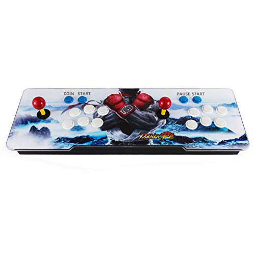 Barbella [2020 Arcade Games Console -Portable 2D Games 2020 in 1 Pandora's 6s Box Arcade Video Game for 2 Players Arcade Machine Double Arcade Joystick Built-in Speaker by Barbella (Image #2)