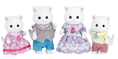 (Calico Critters Persian Cat Family)