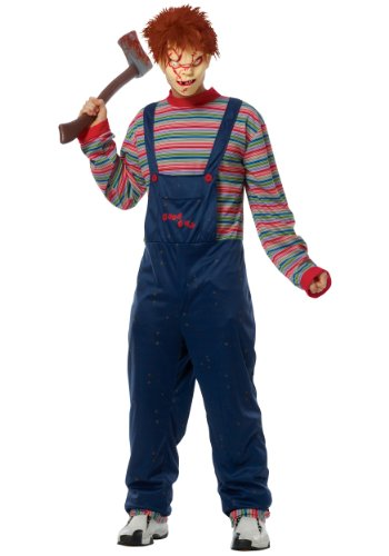 Chucky Costumes For Adults (Adult Chucky Costume Small)