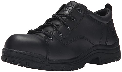 Timberland PRO Women's Titan Work Shoe,Black,9.5 M US