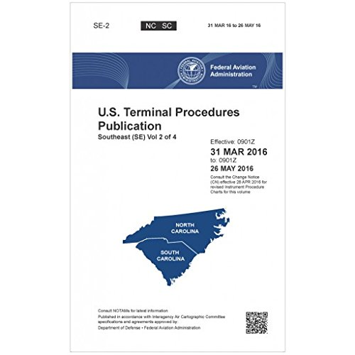 FAA IFR Terminal Procedures Bound Southeast (SE) Vol 2 of 4 (Always Current Edition)