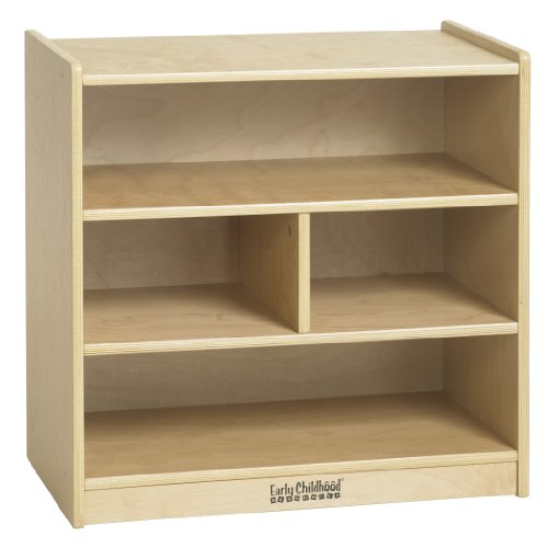 ECR4Kids Birch 4-Compartment Hardwood Bl - Hardwood Block Shopping Results