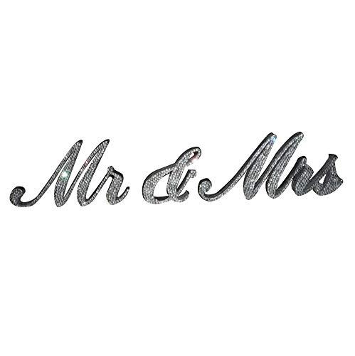 Señor y señora cartel novia