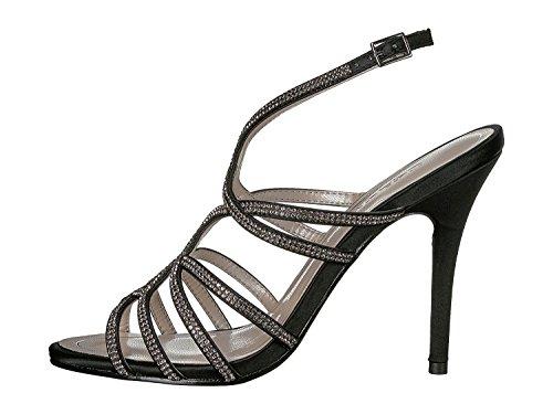 Caparros Womens Flat Sandals, Black/Tint, Size 8.5