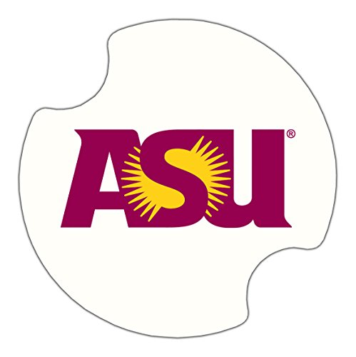 (Thirstystone Arizona State University Car Cup Holder Coaster, 2-Pack)