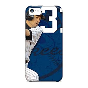 New Customized Design New York Yankees For Iphone 5c Cases Comfortable For Lovers And Friends For Christmas Gifts