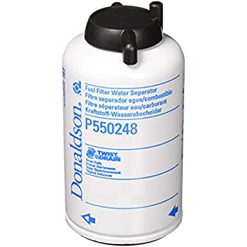 donaldson p550248 fuel filter, water separator, spin-on
