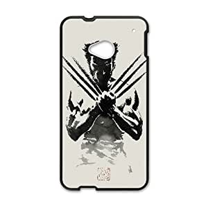 HTC One M7 Phone case Black Wolverine KKSD6384564