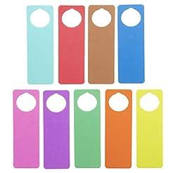 Darice Foam Door Hangers 9/Pkg-Assorted ...