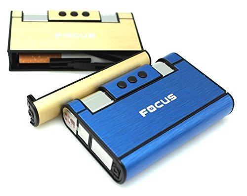 Avec Distributeur Bleu Boite Boitier Tempête 8 Focus Cigarettes Étui Briquet RxvqdnYw