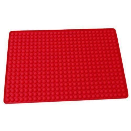 LALANG Microwave oven silicone Pyramid baking mat and roast meat mat - Mat Baking Microwave