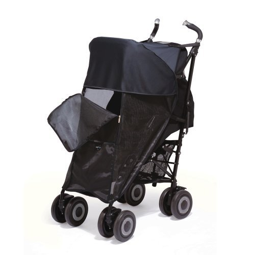 Outlook Single Shade a Babe Universal Pushchair Sun Shade Black by Outlook by Outlook