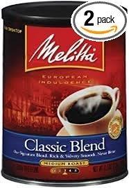 Melitta 60253 11 Oz Premium Blend Classic Coffee (Pack of (Classic Blend Coffee)