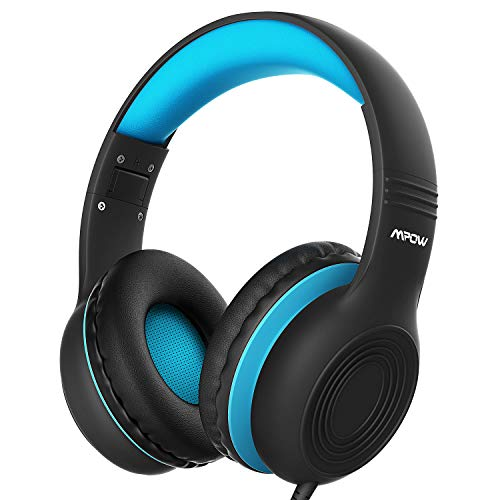 Kinder Kopfhörer, Mpow CH6S Kopfhörer für Kinder mit 85dB Lautstärkeregler Schalter Over-Ear Ohrenschützer Faltbar…