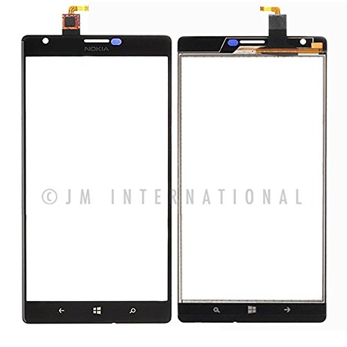 ePartSolution-OEM Nokia Lumia 1520 Glass Lens Touch Screen Digitizer Black Replacement Part USA Seller (Nokia Lumia 1520 Parts)