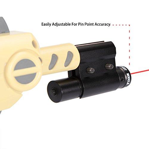 Deyard Laser Sight Insect Eradication Bug & A Fly Salt Shotgun Version 2.0 Lawn & Garden Eradication Beam Spot Aiming Sight in Red Color(Battery Included) by Deyard (Image #4)