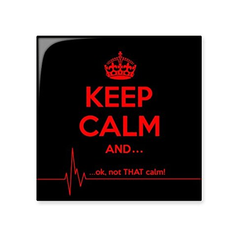 Quote Keep Calm And Red Black Funny Crown Electrocardiogram Illustration Pattern Ceramic Bisque Tiles for Decorating Bathroom Decor Kitchen Ceramic Tiles Wall Tiles durable service