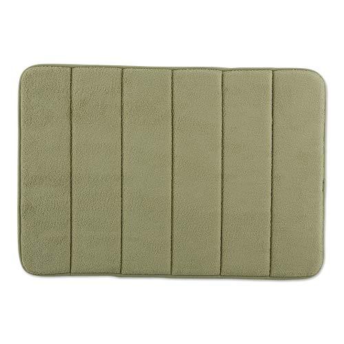 Memory Foam Bath Mat Non Slip Ultra Soft and Absorbent 17x24