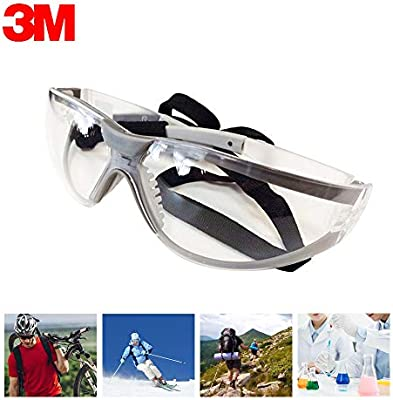 3M 11394 Windproof Goggles Anti-UV Protective Glasses Working Safety Eyes Wear
